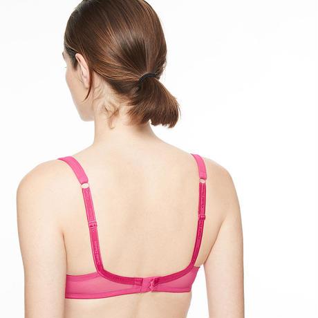 Chantal Thomass Hot pink Ribbon Bra size 85B