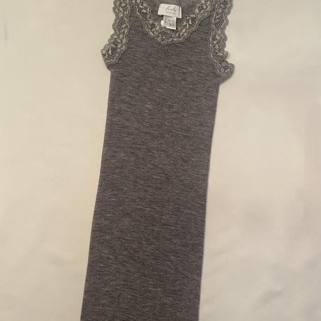 Wool/Silk camisole Classic Grey