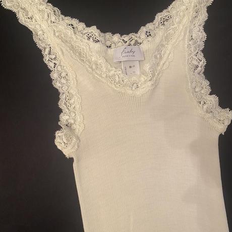 Wool/Silk camisole Ivory