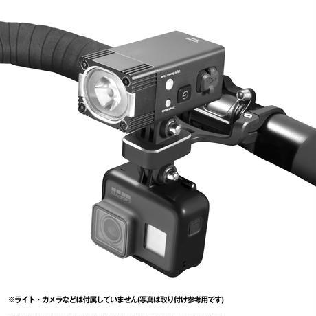 Gaciron(ガシロン) H09 アウトフロントブラケット アルミ合金製ダブルアーム(新マウント・新ブラケット対応、サイクルコンピューター付属)