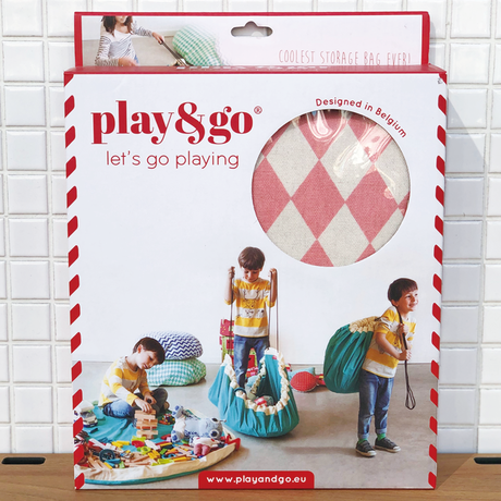 "Play&Go  -Storage Play Mat- ""PINK DIAMOND"""
