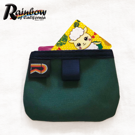 """Rainbow of California """"Coin & Card Holder"""""""