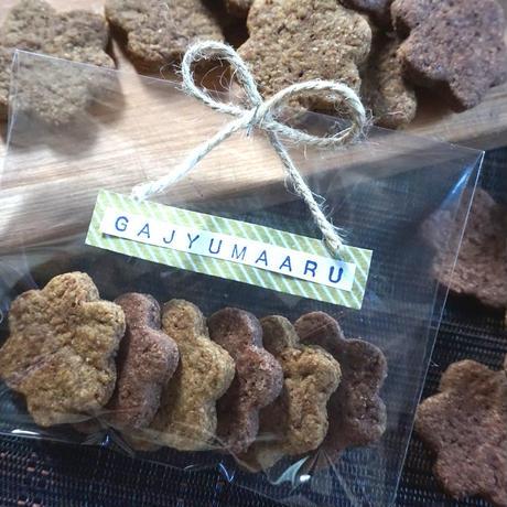 【白砂糖・卵・乳製品不使用】ヘンプ&ココアクッキー(各3枚入 計6枚)