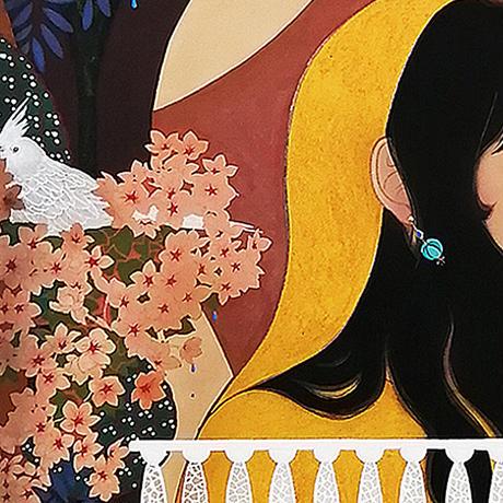 森 萌衣 MORI Mei  愛の窓辺
