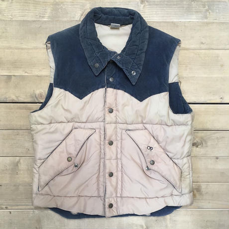 op weather wear reversible downvest