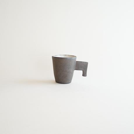 【安藤雅信】黒細長コーヒー 丸  B