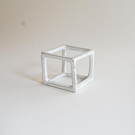 【安藤雅信】空気の箱 (白糖釉)