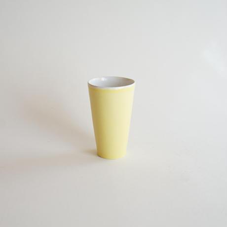 【安藤雅信】イギリスコップ M (檸檬釉)