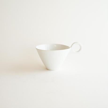 【安藤雅信】イギリスコーヒー S(白ツヤ)