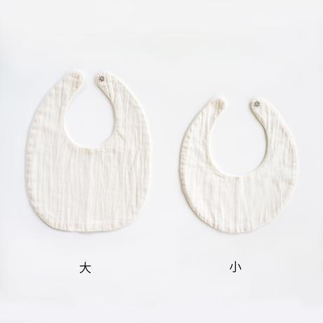【百草オリジナル】よだれかけ・小(ミシン縫い/三重)