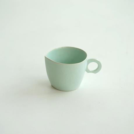 【安藤雅信】コーヒー 白藍釉