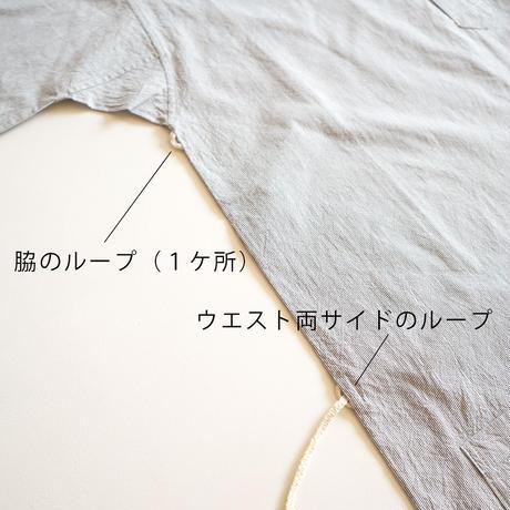 【安藤明子】定番スモックブラウス