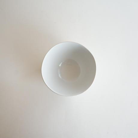 【安藤雅信】カフェオレボウル 小 高台筋無し(青白艶釉)