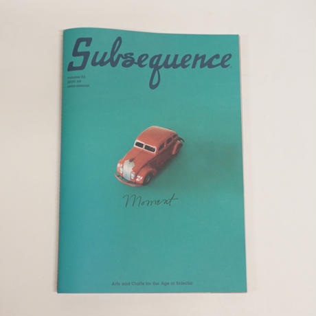 Subsequence volume 03