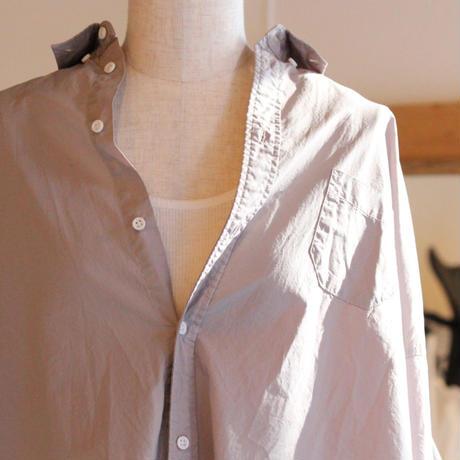 UT190SH059  ミストワッシャー ボタンダウンワイドシャツ