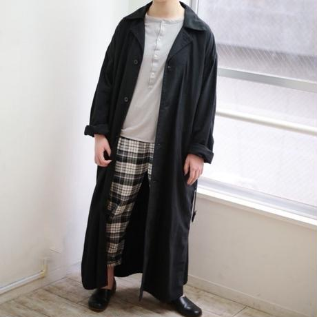 TS190SH067 アンティークスラブ ミリタリーロングシャツ【size 3】