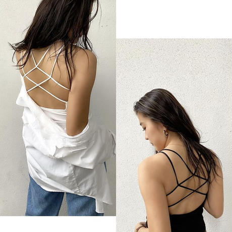 BACK CROSS CUP-IN CAMISOLE