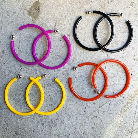 COLOR  8cm HOOP PIERCE