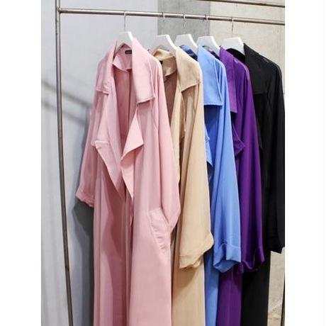 CHIFFON  COLOUR   TRENCH