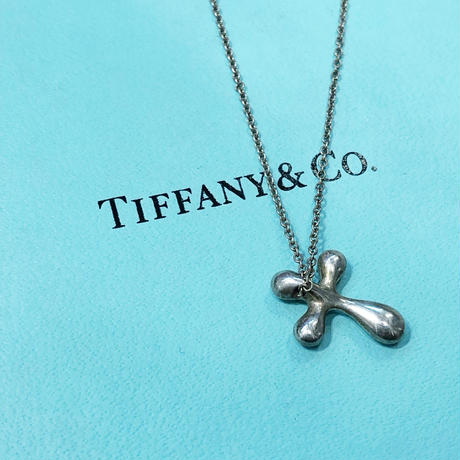 Vintage TIFFANY NECKLACE CROSS