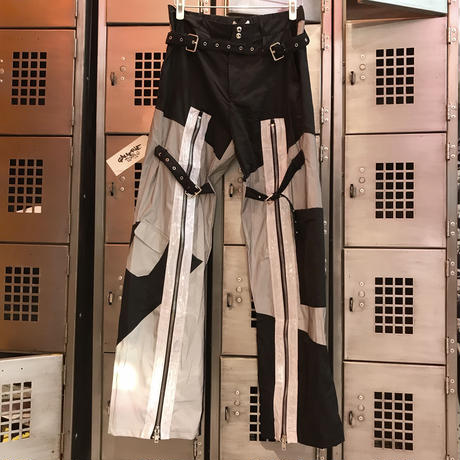 【CUBRUN】REFLECTOR BELT PANTS