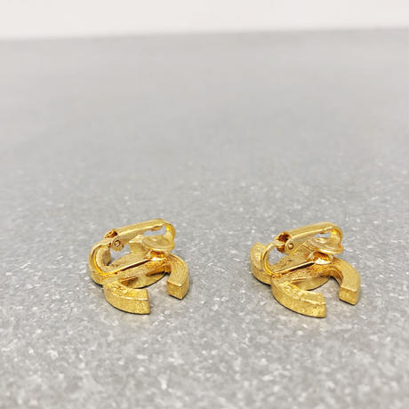 【Vintage CHANEL】COCO RHINESTONE EARRINGS