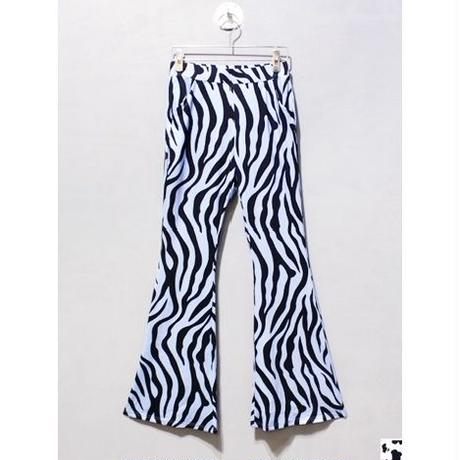 PURPLE ZEBRA BELLBOTTOM