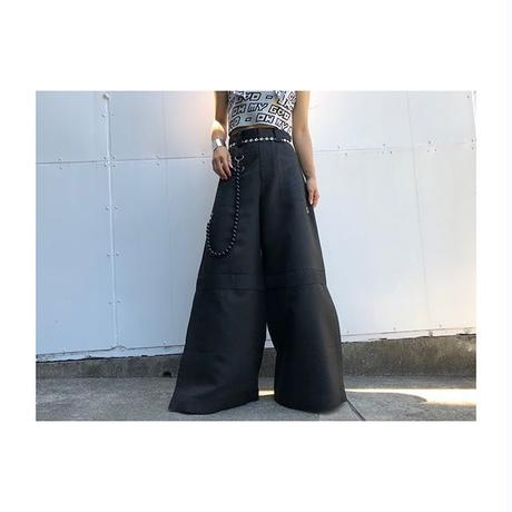 【OH MY GOD】 18SS  WIDE PANTS
