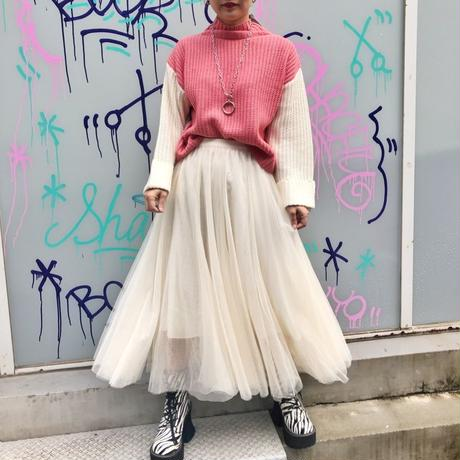VOLUME TULLE SKIRT