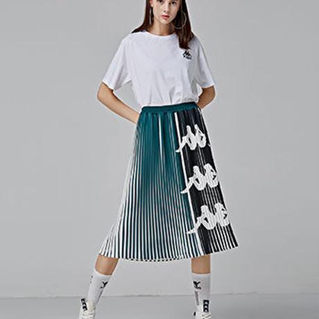 【Kaapa BANDA】pleats long skirt