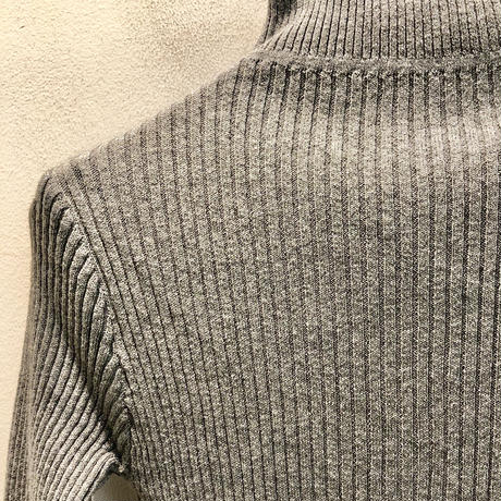 RAME HIGHNECK KNIT CUTSEWN