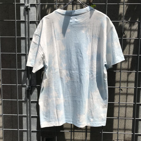 REMAKE TIEDYE TEE(MASK SET) 【BLUE 】