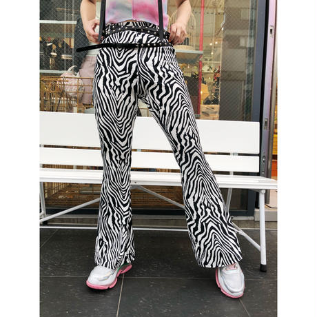 ZEBRA BELLBOTTOM PANTS