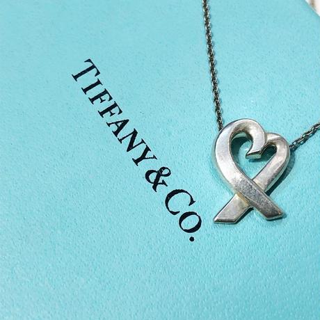 Vintage TIFFANY NECKLACE LOVING HEART
