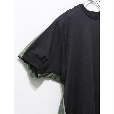 BACK PLEATS TEE ONE PIECE