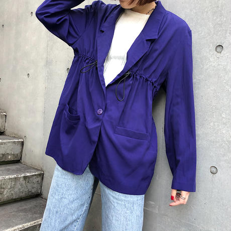 REMAKE DRAWCORD JACKET