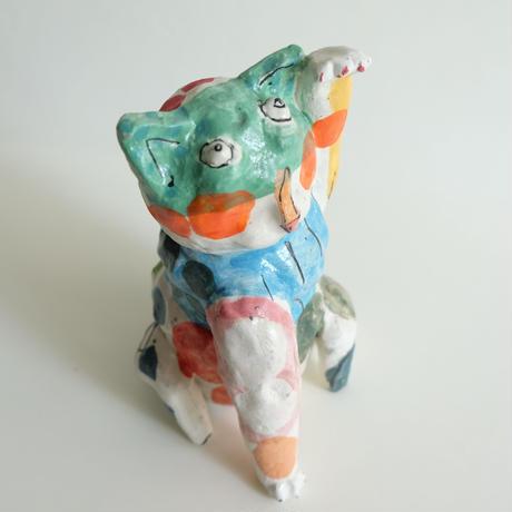 ラファエル・ナバス作 招き猫/C