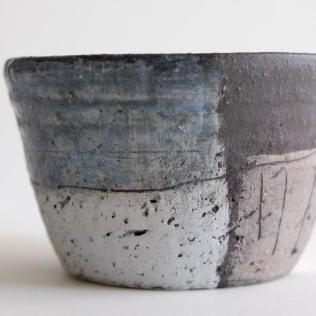 鷹尾葉子作 バケツ型小鉢/C