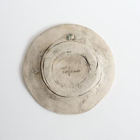 鷹尾葉子作 線紋皿/B