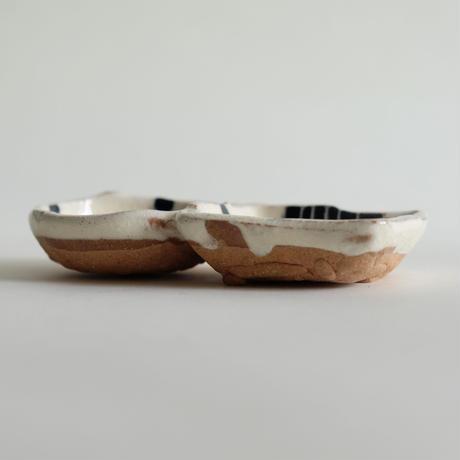 イバタカツエ作 豆皿/J