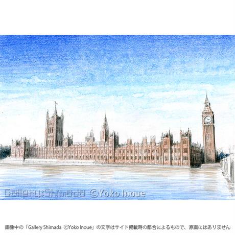 井上よう子「記憶の渚にて」挿絵原画299