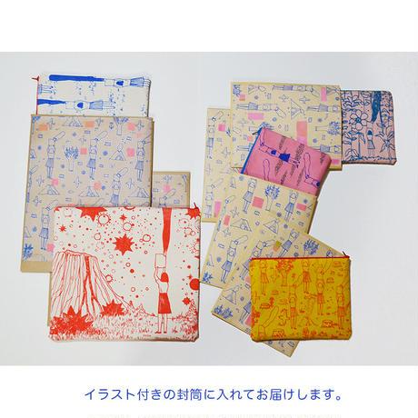 上村亮太  アネモネポーチ(薄ピンク)