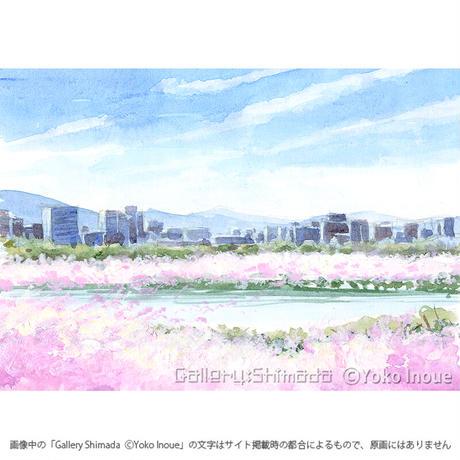 井上よう子「記憶の渚にて」挿絵原画87