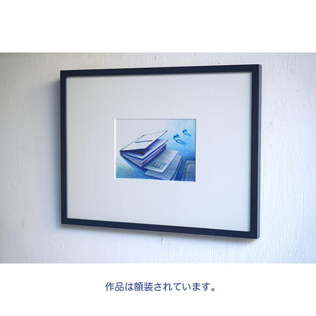 井上よう子「記憶の渚にて」挿絵原画85