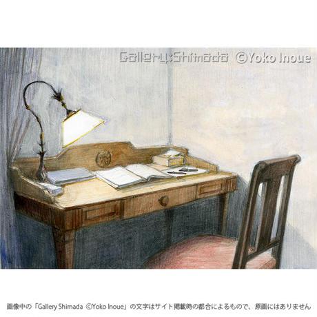 井上よう子「記憶の渚にて」挿絵原画36