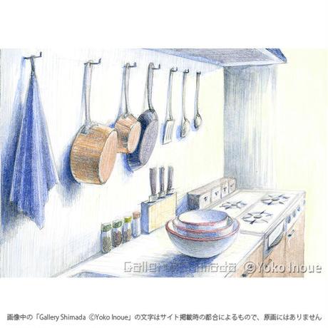 井上よう子「記憶の渚にて」挿絵原画21
