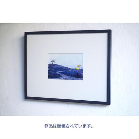 井上よう子「記憶の渚にて」挿絵原画88