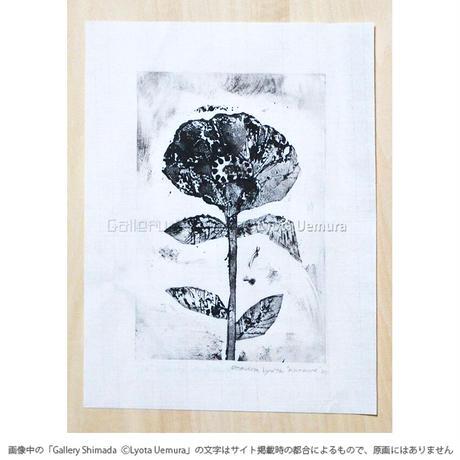 上村亮太 版画「anemone No.3」