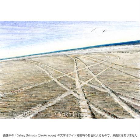 井上よう子「記憶の渚にて」挿絵原画221