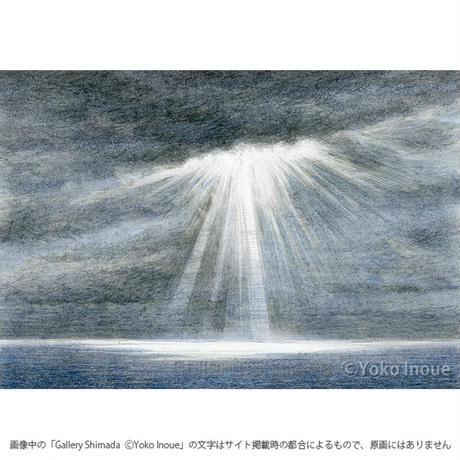 井上よう子「記憶の渚にて」挿絵原画20